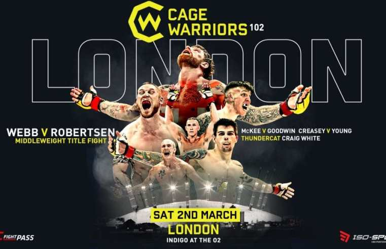Cage Warriors 102 Results