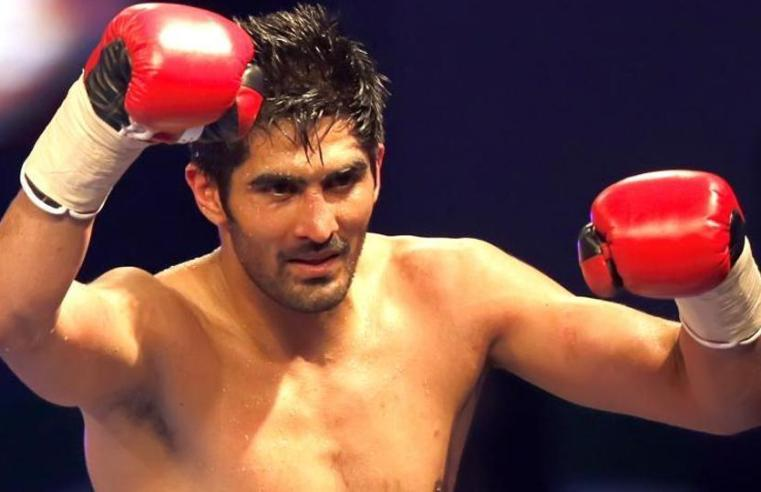 Indian Boxer Vijender Singh Joins Congress, To Contest Polls In South Delhi