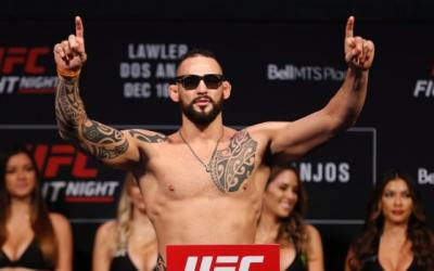 Santiago Ponzinibbio Wants To Fight Tony Ferguson At UFC 249