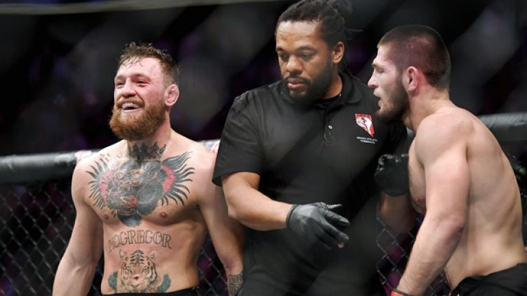 Khabib Has Some Advice For McGregor, If He Attends UFC 242