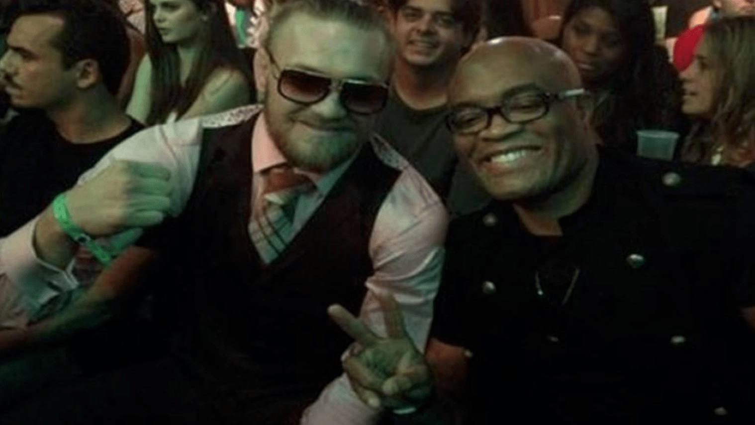 Anderson Silva Tells Dana White To Make The Conor McGregor Fight