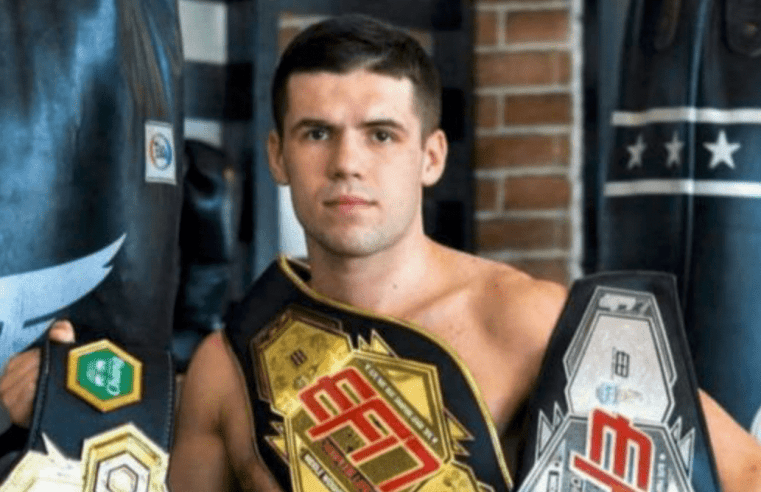 Andy Souwer Out Of ONE Featherweight Kickboxing Grand Prix