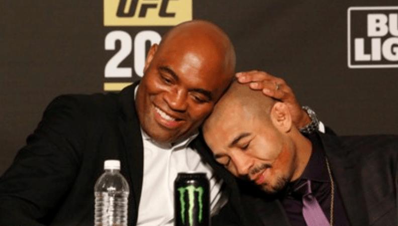 Anderson Silva And Jose Aldo Post Statements On UFC 237 Losses