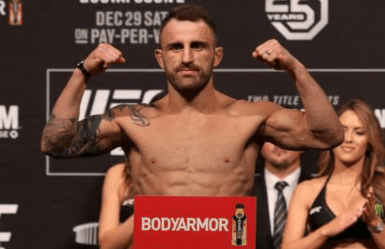 UFC: Alex Volkanovski Talks 'The Korean Zombie' And 145lbs Division