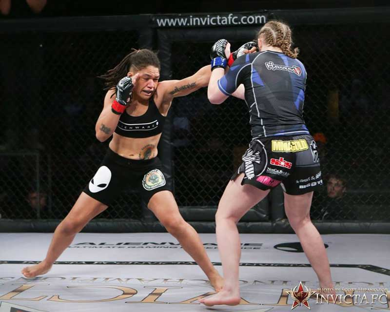 Sijara Eubanks Talks Return To 135 Lbs, Fight With Aspen Ladd