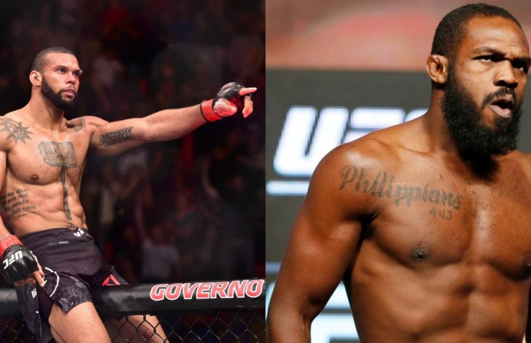 Jon Jones And Thiago Santos Get Into War Of Words