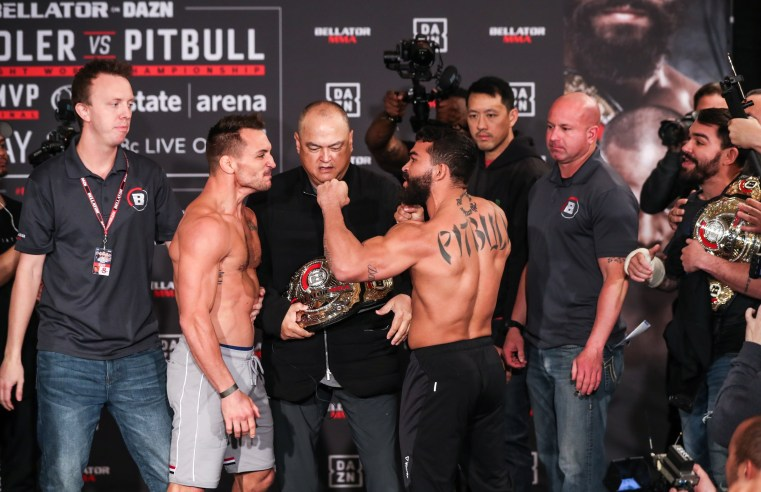 Bellator 221: Pitbull Vs Chandler Weigh In Results