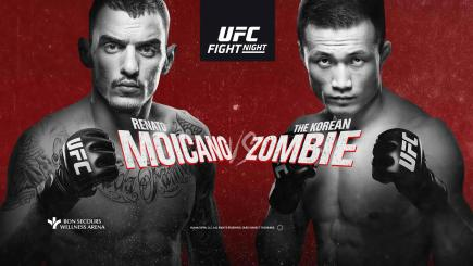 UFC Greenville Results: Moicano vs The Korean Zombie