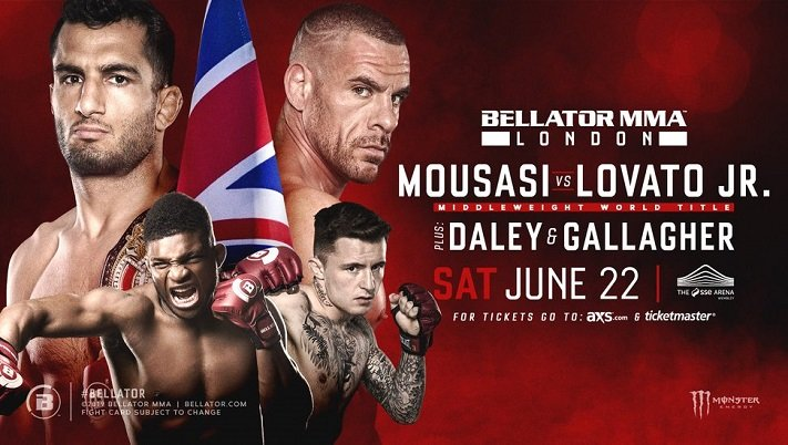 Bellator 223 Results: Mousasi vs Lovato Jr