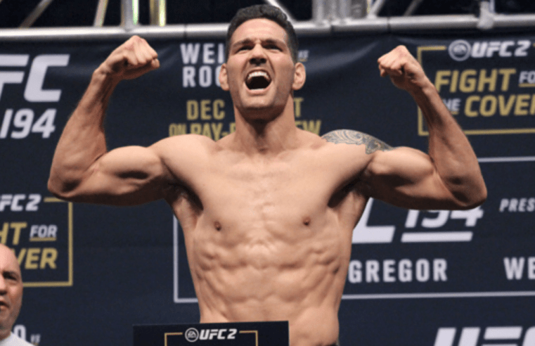 Chris Weidman Explains Move To Light Heavyweight