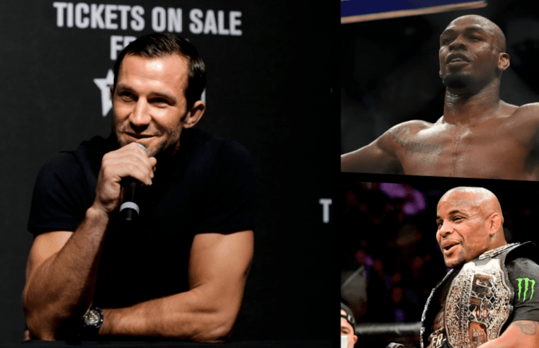 Luke Rockhold Thinks Jon Jones Is Afraid To Fight DC At Heavyweight