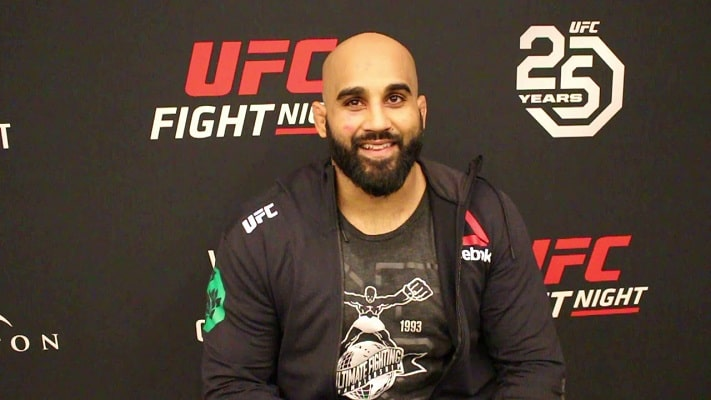 Arjan Bhullar Plans To Win The ONE Belt And Then Defend It In India