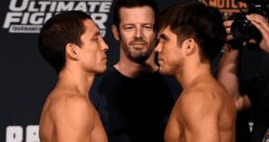 Joe Benavidez vs Henry Cejudo ahead of fight in 2016