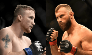 Justin Gaethje and Donald 'Cowboy' Cerrone, who will fight in the main event at UFC Vancouver