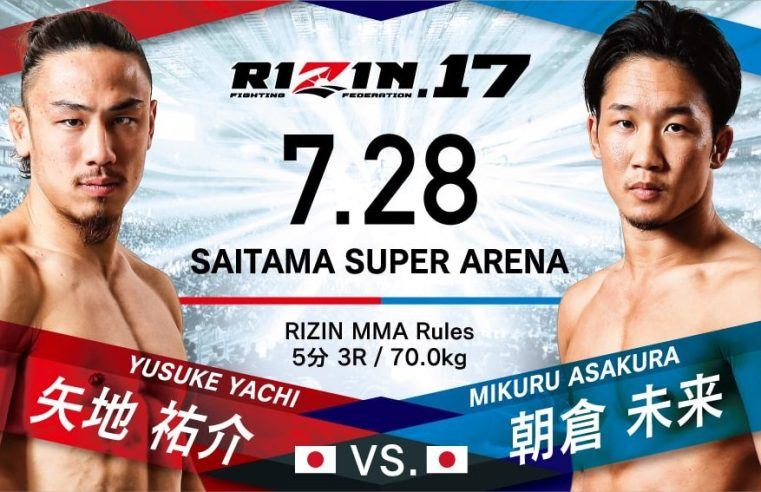 Official RIZIN 17 Results