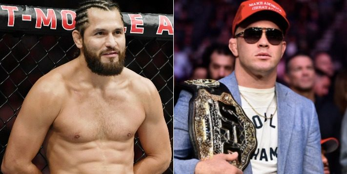 Jorge Masvidal Recalls Incident With Colby Covington At UFC 241