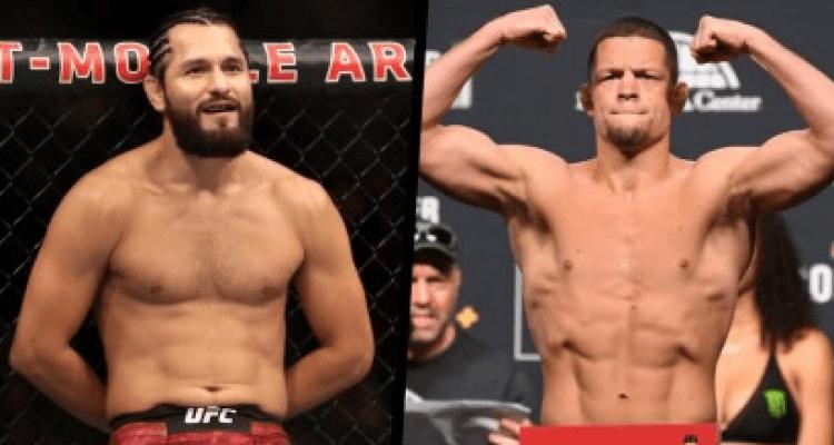 Jorge Masvidal and Nate Diaz UFC 244