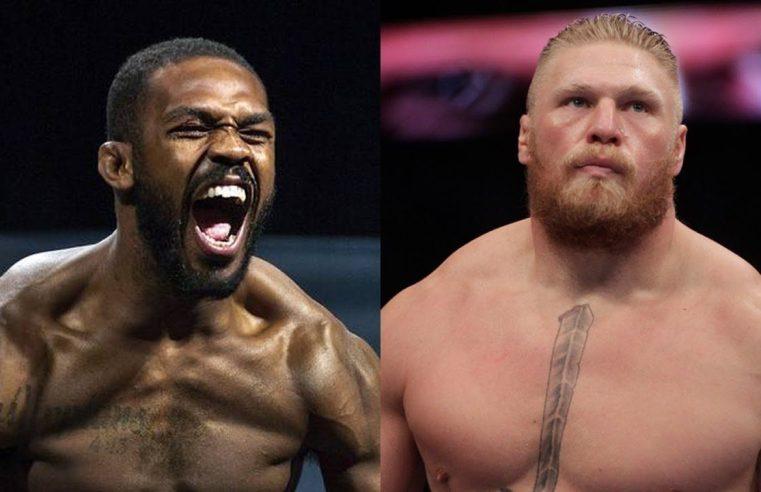 Jon Jones Says He Would 'Embarrass' Brock Lesnar
