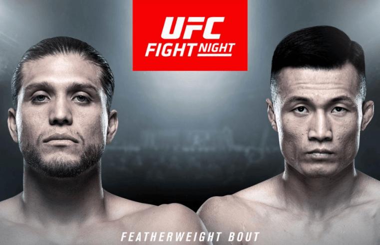 Brian Ortega vs The Korean Zombie To Headline UFC Busan