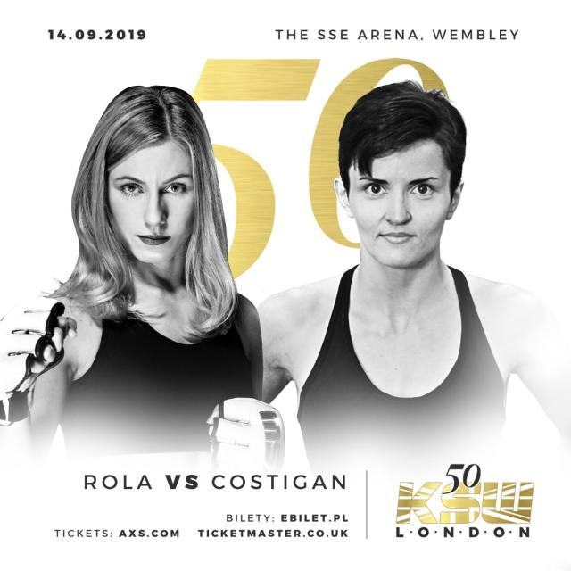 Aleksandra Rola vs Catherine Costigan KSW 50