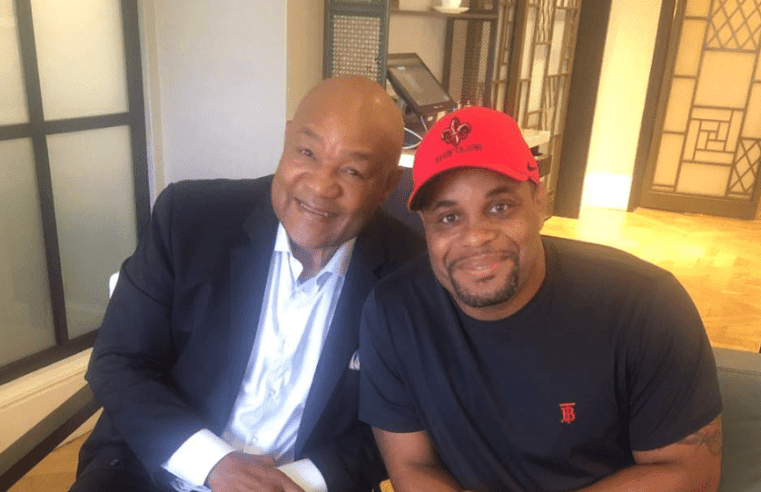 Daniel Cormier To Work With George Foreman Ahead Of Stipe Miocic Trilogy