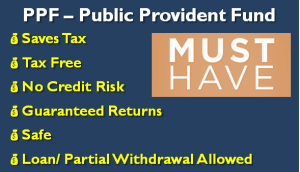 PPF – Public Provident Fund - Must Have Investment for Everyone