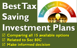 Best Tax Saving Investment Plans