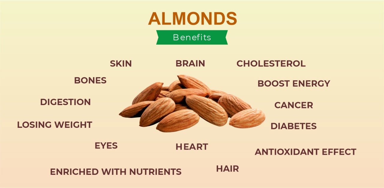 Almonds Benefits and Side Effects