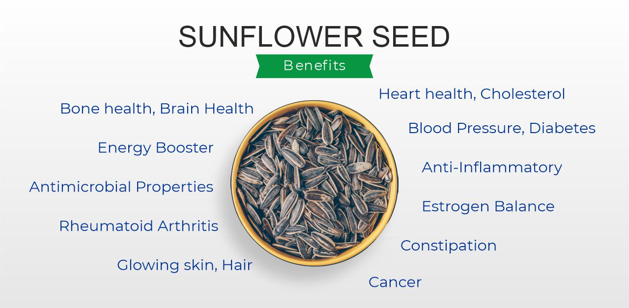 Sunflower Seed Benefits and Side Effects India 2021