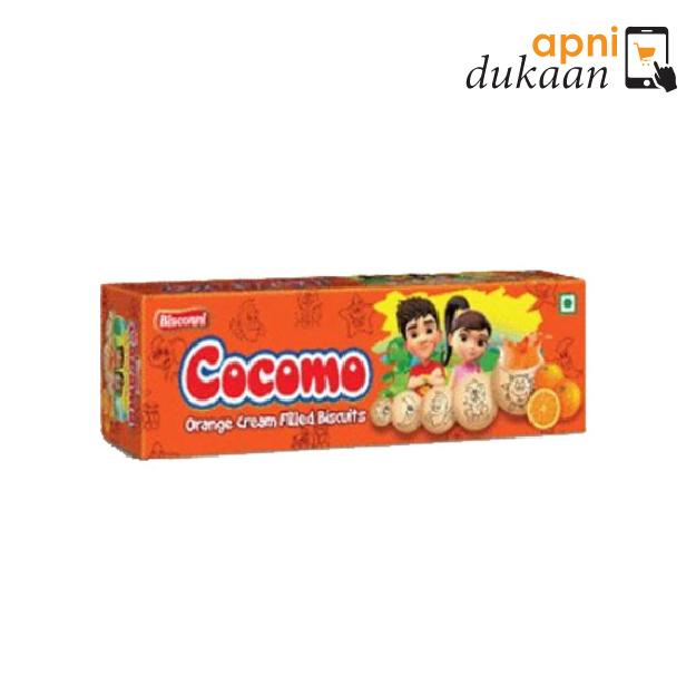 Bisconni Cocomo Biscuits – Orange (94g)
