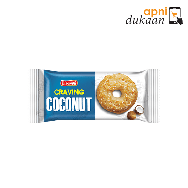 Bisconni Craving Coconut Cookies (96g)