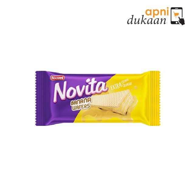 Bisconni Novita Wafer – Banana (31g) 12 Pack