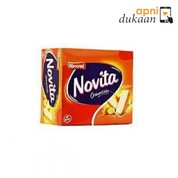 Bisconni Novita Wafer – Orange (62g)