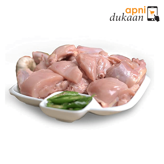 Hand Slaughtered Chicken Curry Pieces 1kg