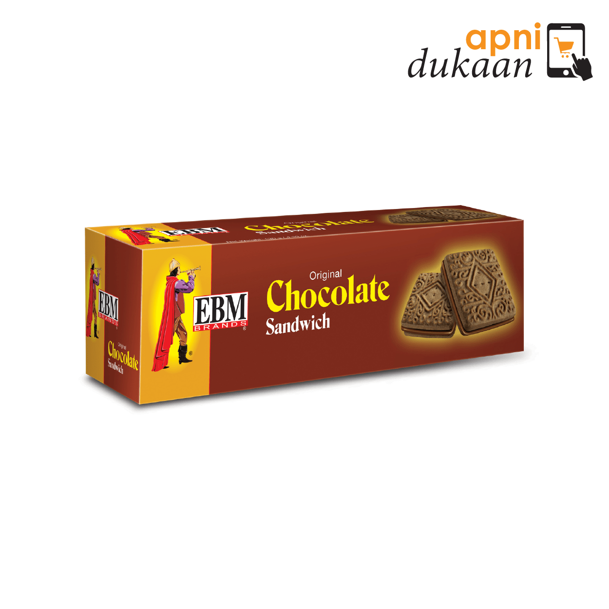 EBM Chocolate Sandwich Biscuits
