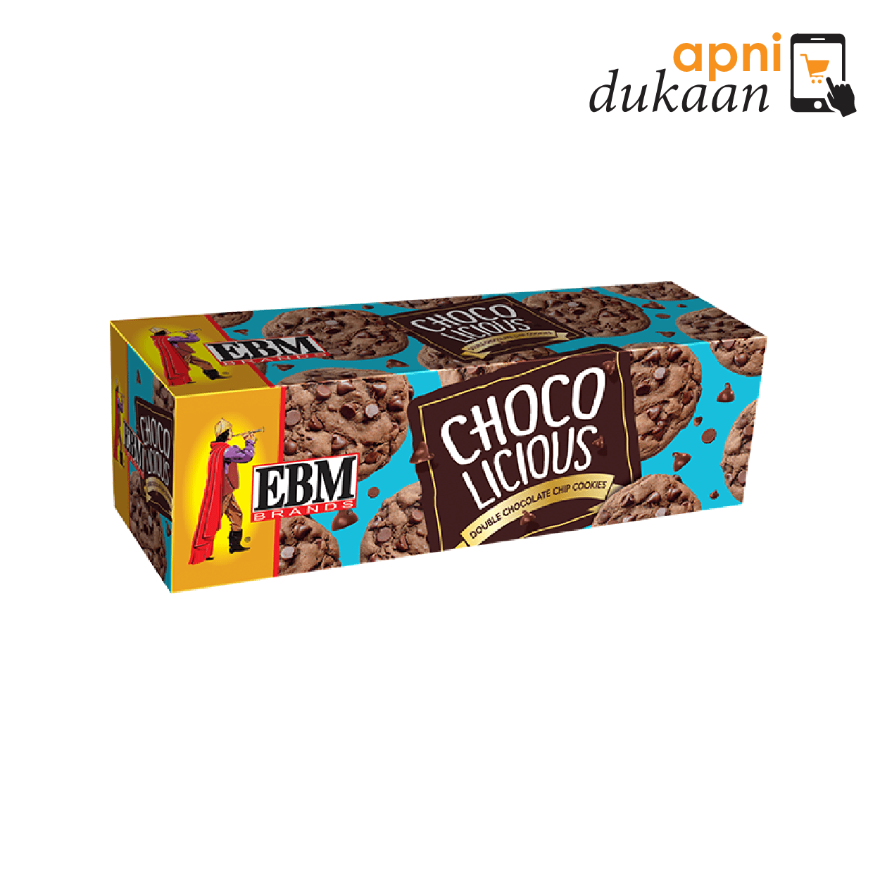 EBM Chocolicious Biscuits