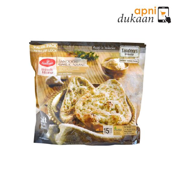 Haldiram Garlic Tandoori Naan 15 Pcs