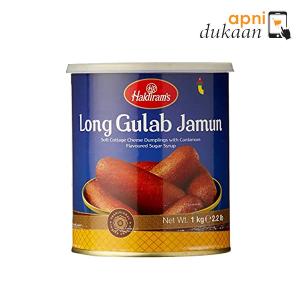 Haldiram Long Gulab Jamun 1 kg