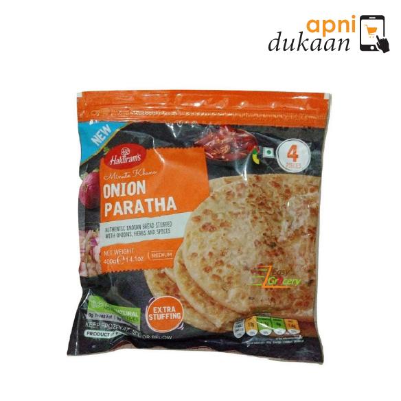 Haldirams Onion Paratha 4 Pcs