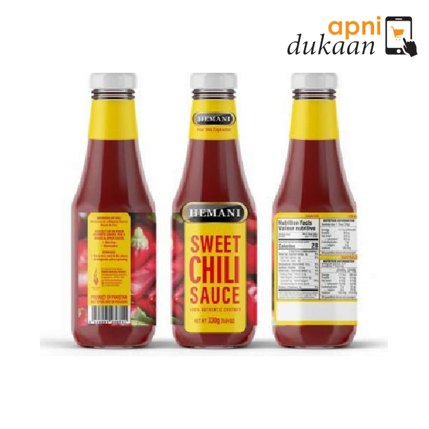 Hemani Sweet Chilli Sauce 380gm