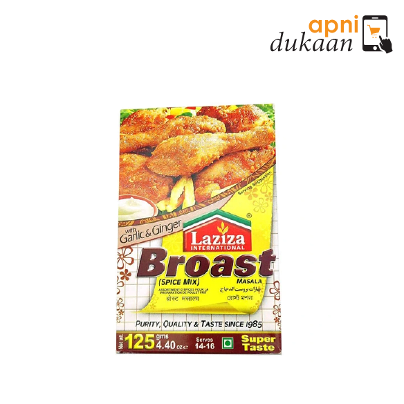 Laziza Broast Spices Mix Masala 125 gm
