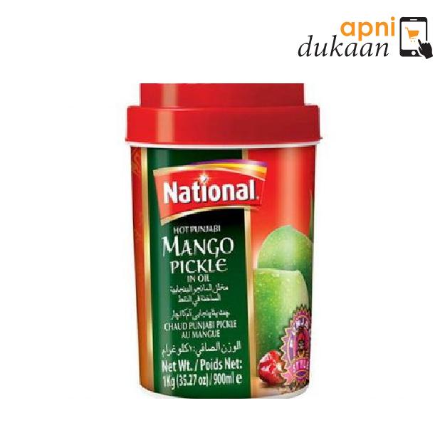 National Hot Punjabi Mango Pickle 1Kg