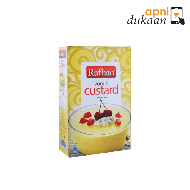 Rafhan Custard Powder – Vanilla 285g