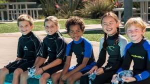 Discover Scuba Diving children