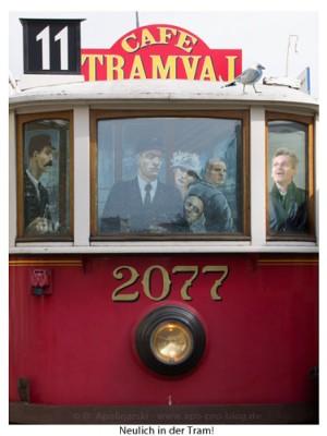 Prag, Neulich in der Tram