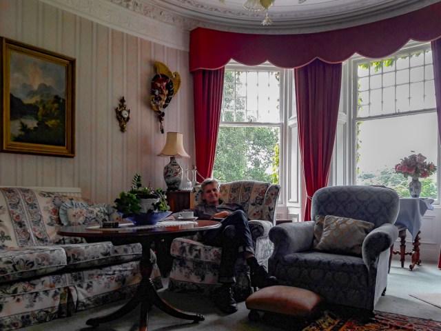 Bendarroch House, Kaminzimmer, Schottland 2017