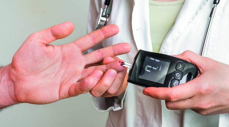 Volkskrankheit Diabetes - ärztlicher Test