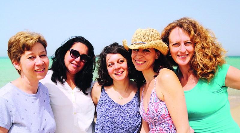 Hyaluron - Gruppe von Frauen