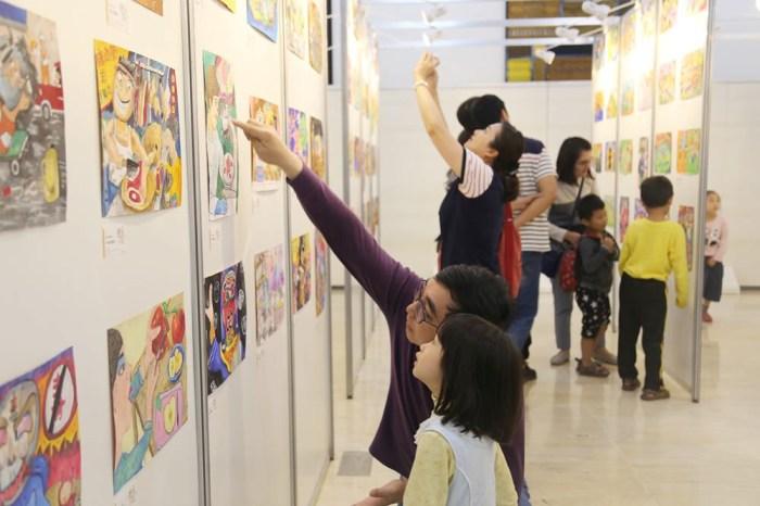 全國兒童聯想創作畫比賽|國小學童皆可參加 兒童美術教育推廣 臺中市政府文化局舉辦 獎金最高五千元