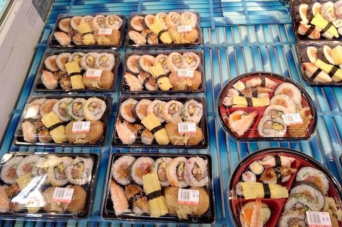 櫻壽司|59元起方便壽司 每日現做 豆皮壽司 手捲壽司 綜合壽司 北屯大買家生鮮部